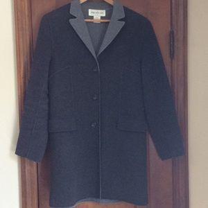 JONES NEW YORK cashmere blend car coat